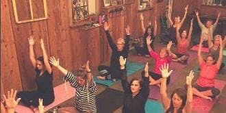 Chardonnay and Namaste aka Yoga Happy Hour