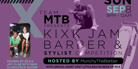 KixK Jam Barber x Stylist Competition tickets