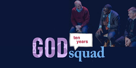 The God Squad 10th birthday blowout:  Wild Card Topic for our Wild Squad Party tickets