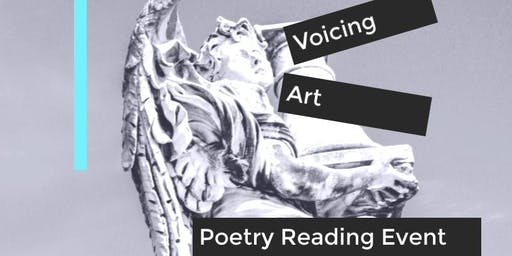 Voicing Art Poetry Reading