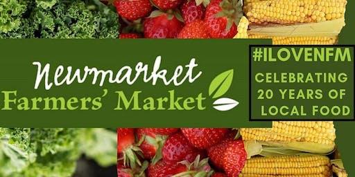 Newmarket Farmers Market 20th Anniversary Harvest Dinner