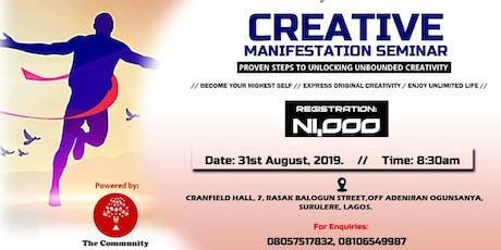 Creative Manifestation Seminar tickets