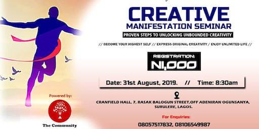 Creative Manifestation Seminar