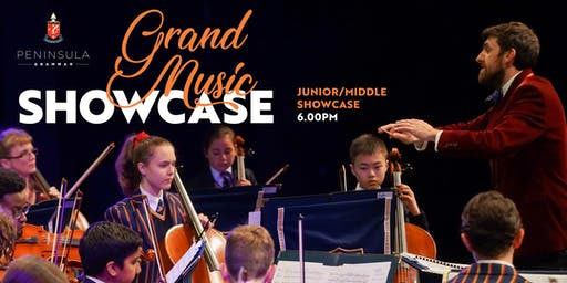 Grand Music Showcase - JUNIOR/MIDDLE