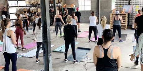 Shred415 x Athleta FREE Pop up Workout tickets