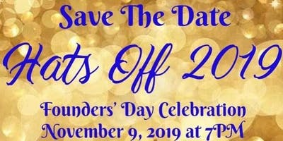 Zeta Delta Sigma Chapter of Sigma Gamma Rho - Founders' Day Hats Off 2019