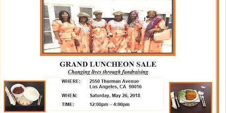 Creole Heritage Organization- California Luncheon Sale tickets