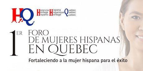 Foro De Mujeres Hispanas en Quebec tickets