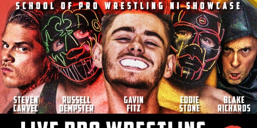 School of Pro Wrestling NI Showcase Live Pro Wrestling in Malone Rugby Club