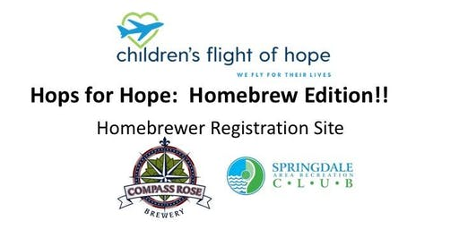 Hops for Hope:  Homebrew Edition--Fundraiser supporting Children's Flight of Hope