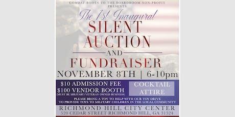 Veterans Day Weekend Silent Auction  & Fundraiser Vendor Registration tickets