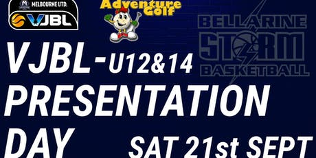 Bellarine Storm - VJBL (U12&14) Presentation Day tickets
