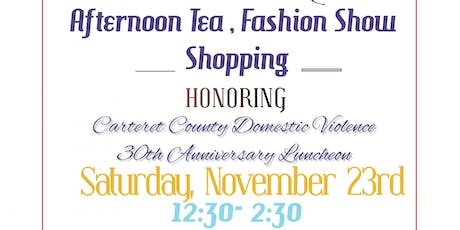 Afternoon Tea, Fashion Show and Shop tickets