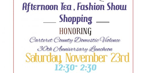 Afternoon Tea, Fashion Show and Shop