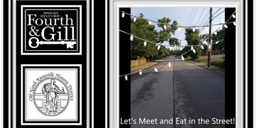 Let's Meet and Eat in the Street...Casual, Long Table, Potluck!