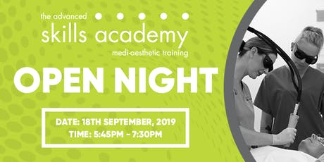 Open Night! The Advanced Skills Academy tickets