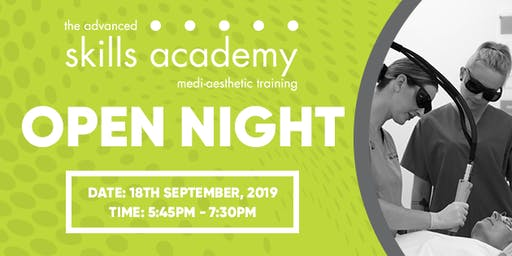 Open Night! The Advanced Skills Academy