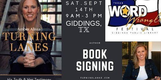 Book Signing, Author (Giddings Library)