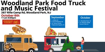 October 6th - Woodland Park Food Truck and Music Festival