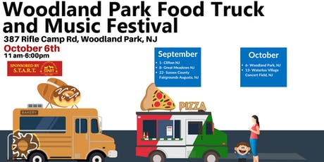 October 6th - Woodland Park Food Truck and Music Festival tickets