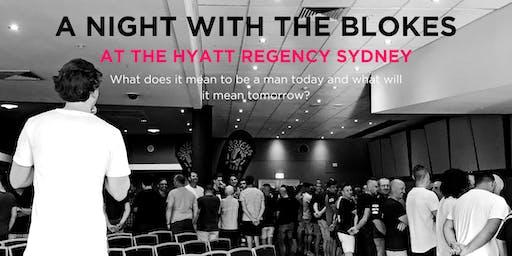 Tomorrow Man - A Night With The Blokes at the Hyatt Regency Sydney