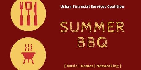 Urban Financial Services Coalition (UFSC) Summer BBQ 2019 tickets