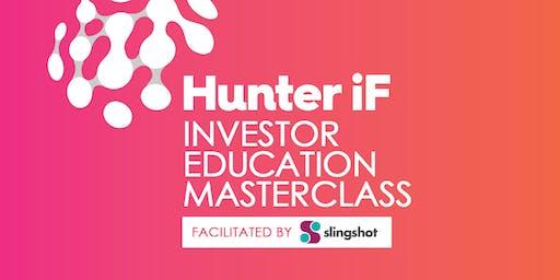 Hunter iF Angel Investing Seminar Facilitated by Slingshot