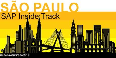 SAP Inside Track São Paulo 2019 ingressos
