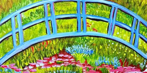 Paint Wine Denver Monet's Bridge Wed Sept 4th 6:30pm $35