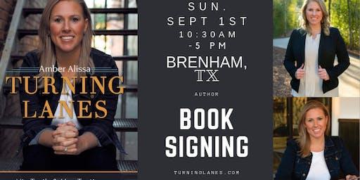 Book Signing, Brenham BookFest, (Amber Alissa, Author)