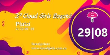 3° Cloud Girls Bogotá entradas