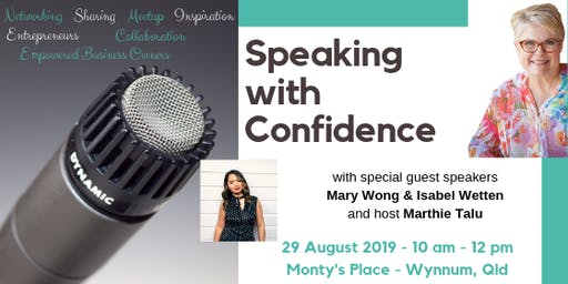 Speaking with Confidence with Mary Wong