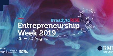 RMIT Entrepreneurship Week: Skill Up Workshop - Mindfulness For Entrepreneurs tickets