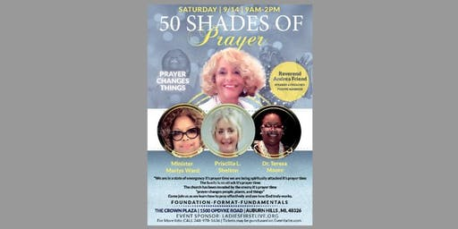 50 Shades of Prayer