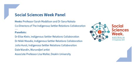 Collaboration not exploitation: Challenges in Indigenous-settler relations tickets