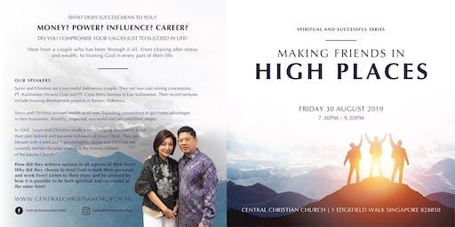 Spiritual & Successful : Making Friends in High Places