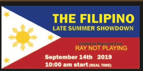 FILIPINO FALL SHOWDOWN billets