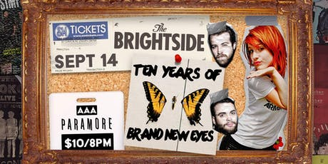 Paramore Night // 10 Years of Brand New Eyes Covered Live tickets