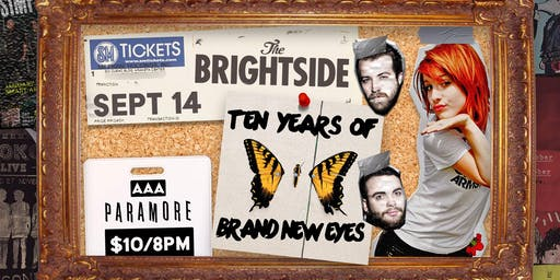 Paramore Night // 10 Years of Brand New Eyes Covered Live