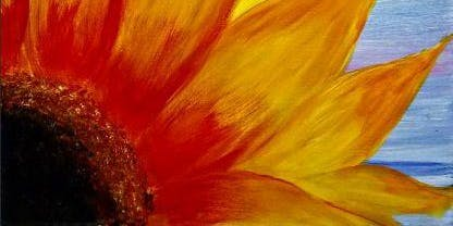 Paint Wine Denver Sunflower Burst Wed Sept 18th 6:30pm $35