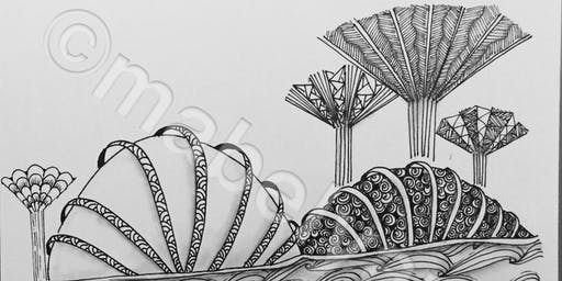 Novena: Zentangle Art Course - Nov 2 - Jan 4(Sat)