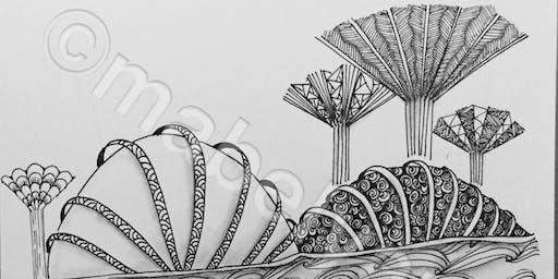 Novena: Zentangle Art Course - Nov 2 - Jan 4 (Sat)
