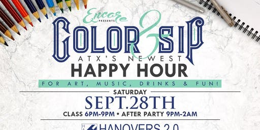 Color & Sip | 9.28