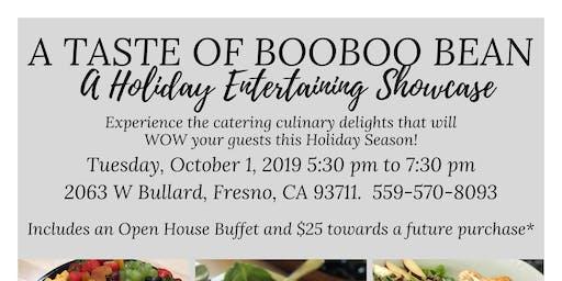 A Taste of BooBoo Bean - A holiday entertaining showcase