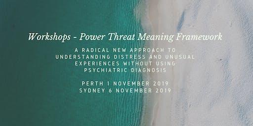 Power Threat Meaning Framework Workshop with Prof. David Pilgrim (Sydney)