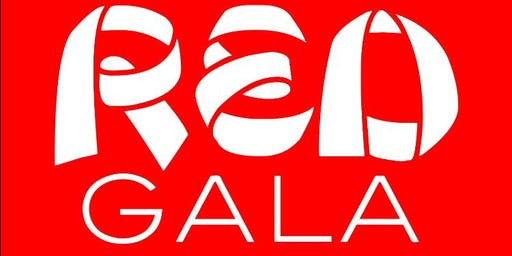 Red Gala Fashion Show