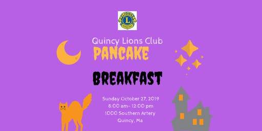 Quincy Lions Club Pancake Breakfast 2019