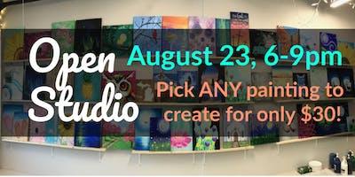 Open Studio Paint Night!