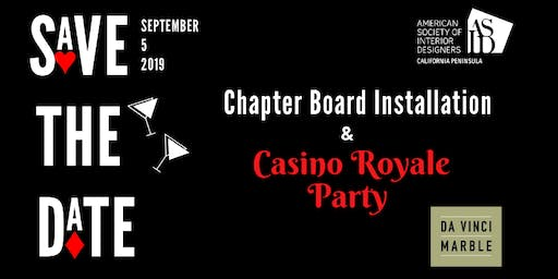Casino Royale Party and Board Installation