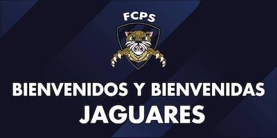 BIENVENIDA JAGUARES FCPS